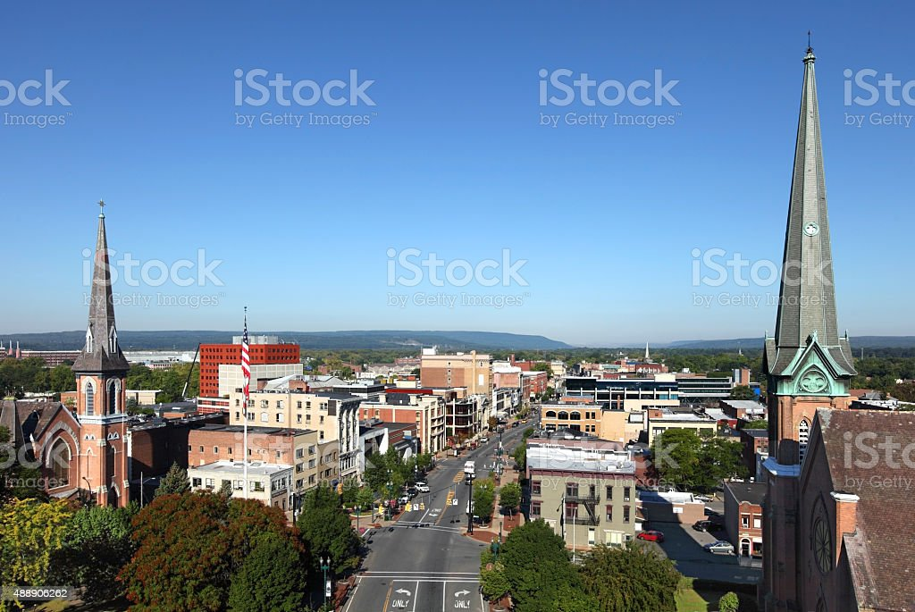 Schenectady, New York stock photo