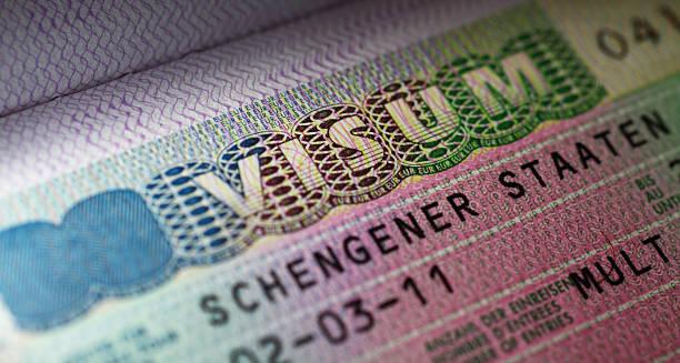 Schengen-Visum – Foto
