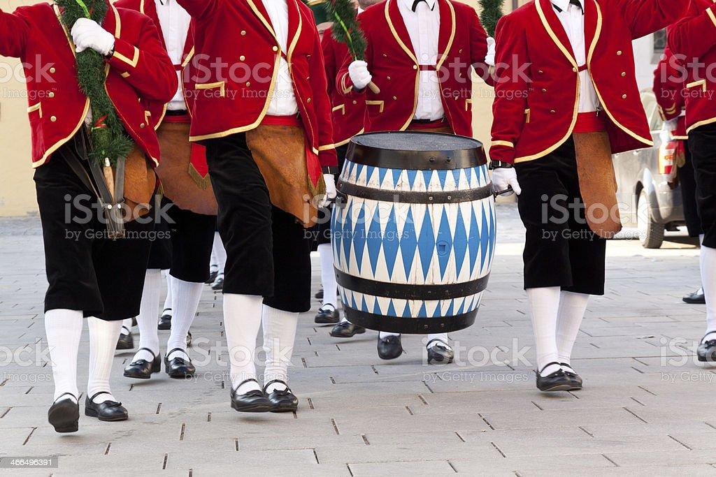 Schäfflertanz royalty-free stock photo