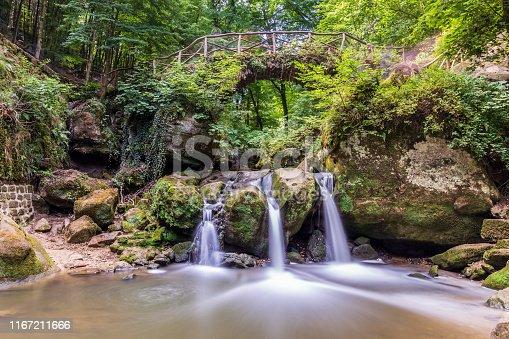 Schiessentumpel waterval at Mullertal