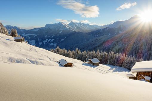 Schihütte im Schigebiet von Mayrhofen