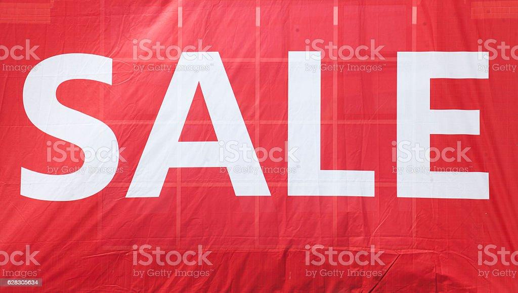 Schild Sale stock photo