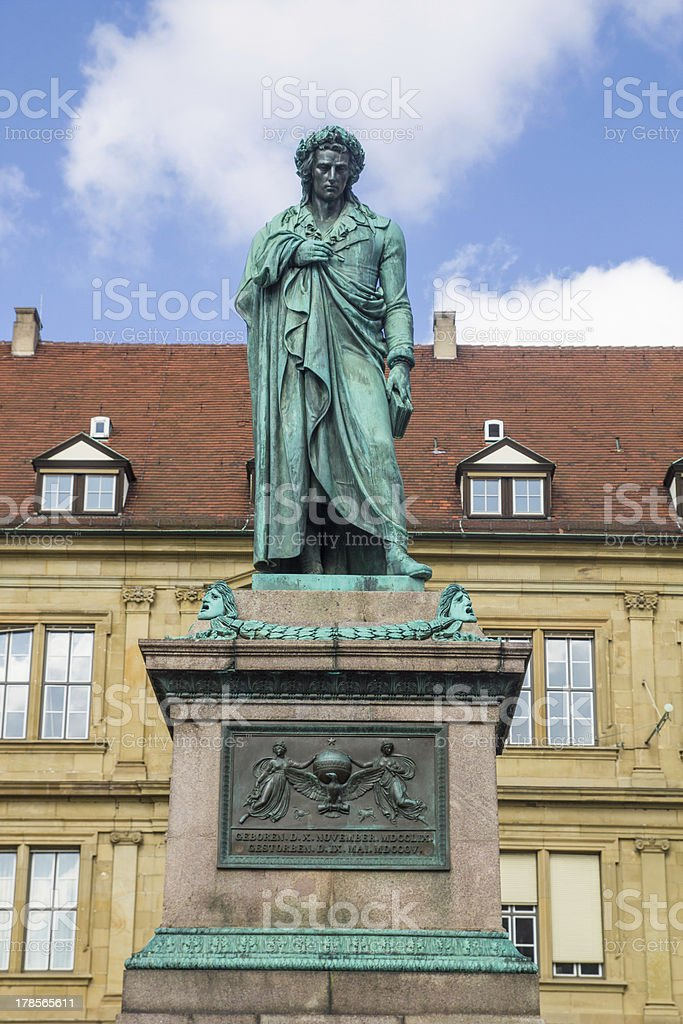 Schillers square royalty-free stock photo