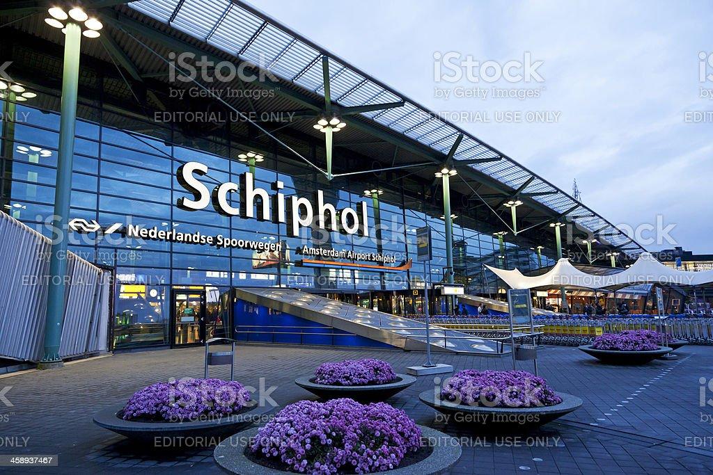 Schiphol Airport editorial # 3 XXXL - Royalty-free Amsterdam Stockfoto