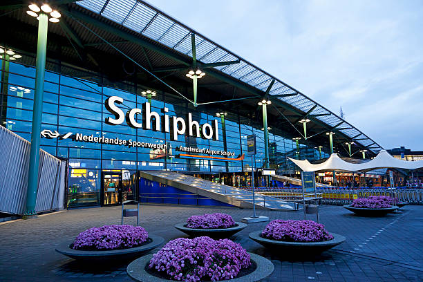Schiphol Airport editorial # 3 XXXL stock photo