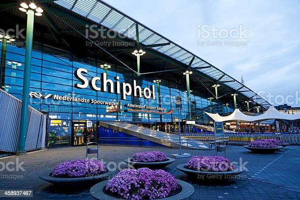 Schiphol Airport Editorial 3 Xxxl Stockfoto en meer beelden van Amsterdam