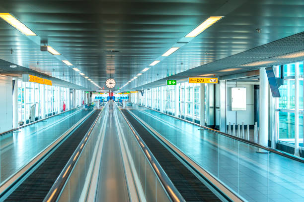 Schiphol airport, the Netherlands stock photo