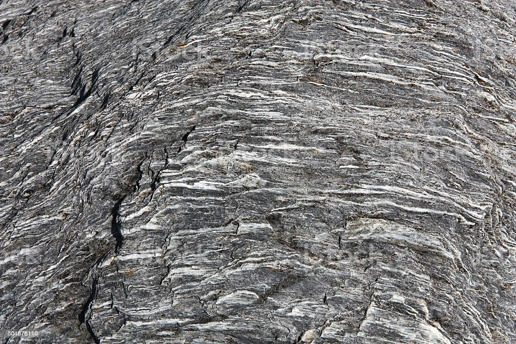 Schist rock stock photo