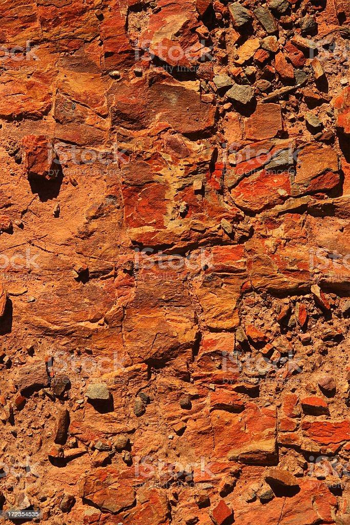 Schist Soil Texture royalty-free stock photo