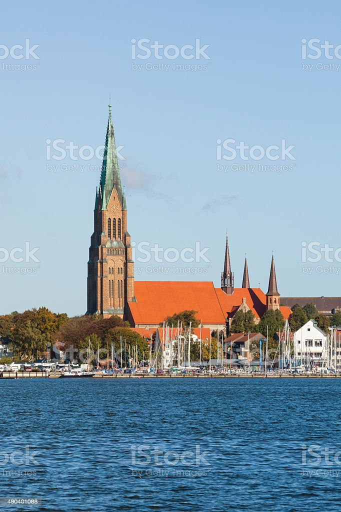 Schleswig Cathedral stock photo