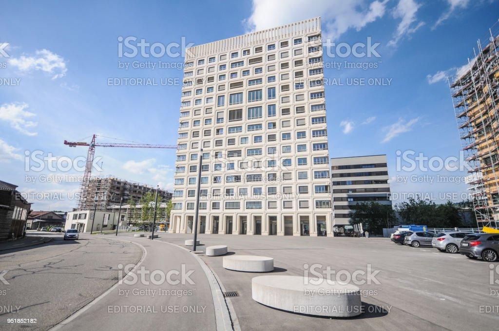 Schlieren (Zurich) Rietpark stock photo