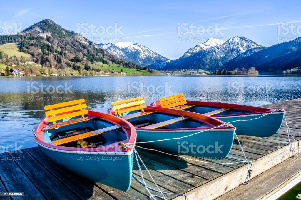 schliersee lake in bavaria royalty-free stock photo