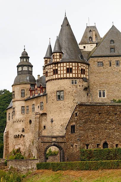Schloss Bürresheim (Burresheim Castle), Germany stock photo