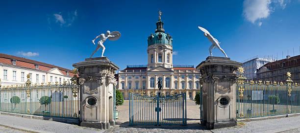 schloss charlottenburg palace - ägyptisches museum berlin stock-fotos und bilder