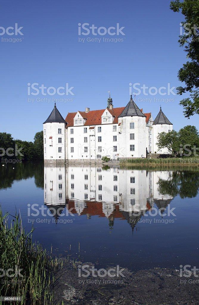 Schloss Gluecksburg royalty-free stock photo