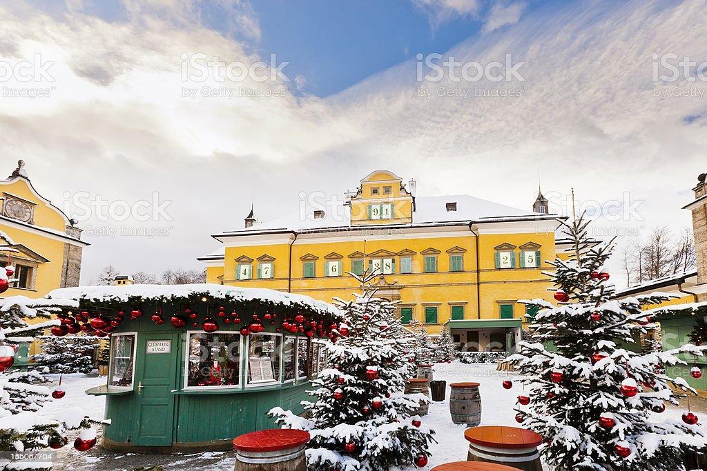 Schloss Hellbrunn Weihnachtsmarkt.Schloss Hellbrunn Salzburg Stockfoto Und Mehr Bilder Von Advent Istock