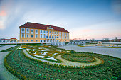 Schloss Hof, Austria - February 19, 2017::Schloss Hof is a baroque palace in Lower Austria, which privious owners include Prince Eugene of Savoy and Maria Theresia.In revival