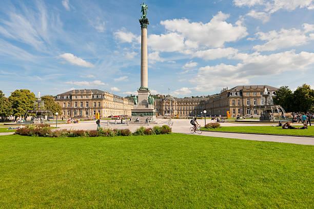 Schlossplatz in Stuttgart – Foto