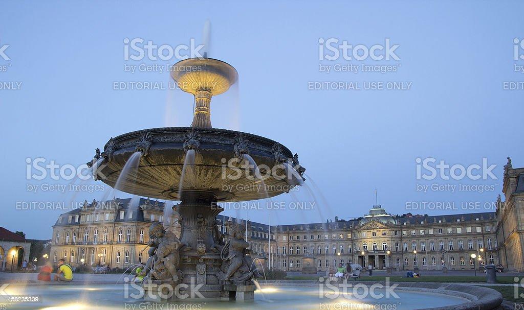 Schlossplatz Square stock photo