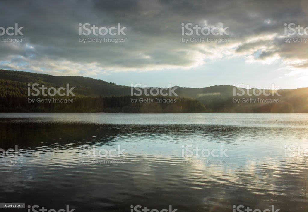Schluchsee im Hochschwarzwald stock photo