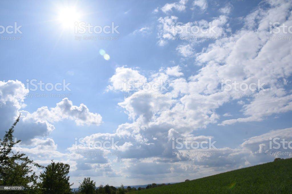 Schön Wetter Wolken photo libre de droits