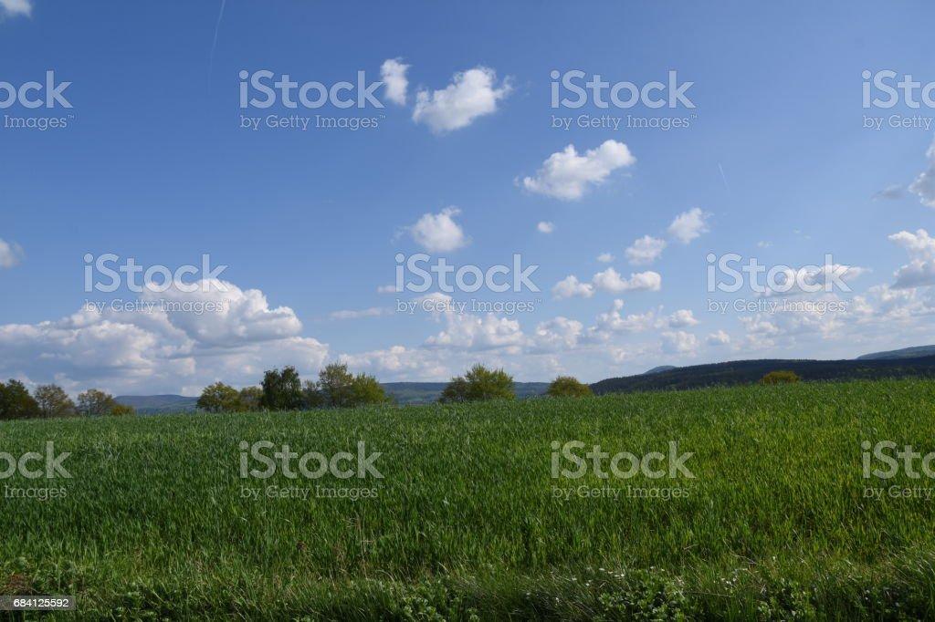 Schön Wetter Wolken foto stock royalty-free