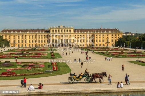 istock Schönbrunn Palace & Gardens, Vienna 458346671