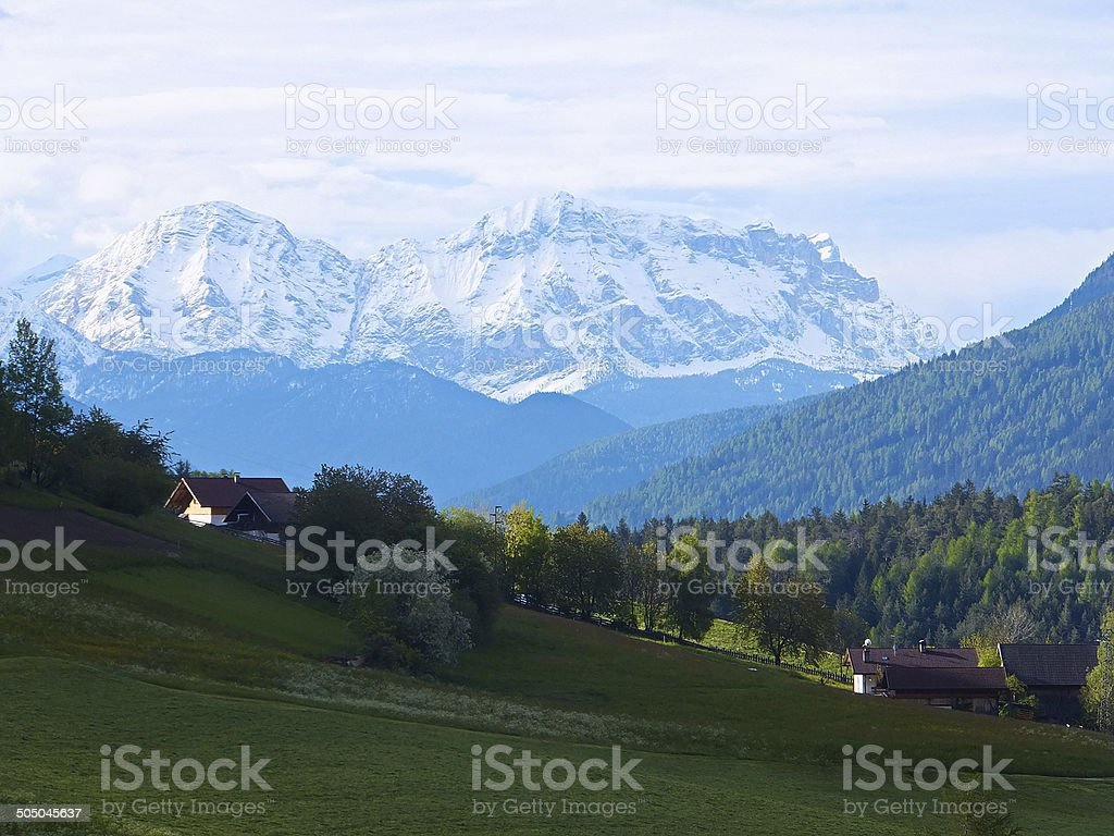 Schneeberg stock photo
