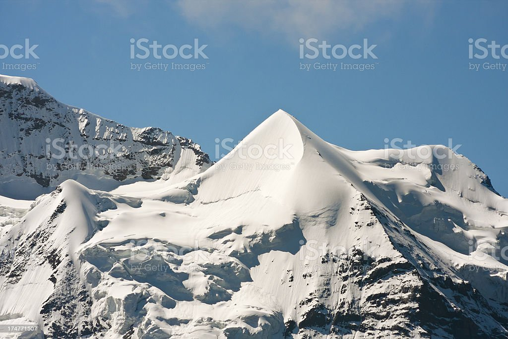 Schneehorn, Swiss Alps royalty-free stock photo
