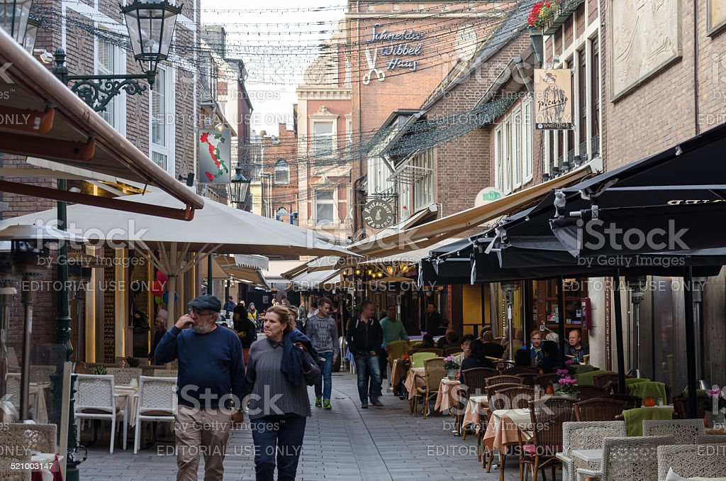 Schneider Wibbel Alley stock photo