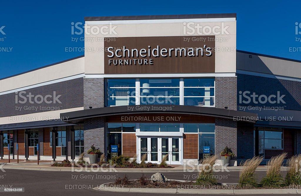 Schneidermanu0027s Furniture Store Royalty Free Stock Photo