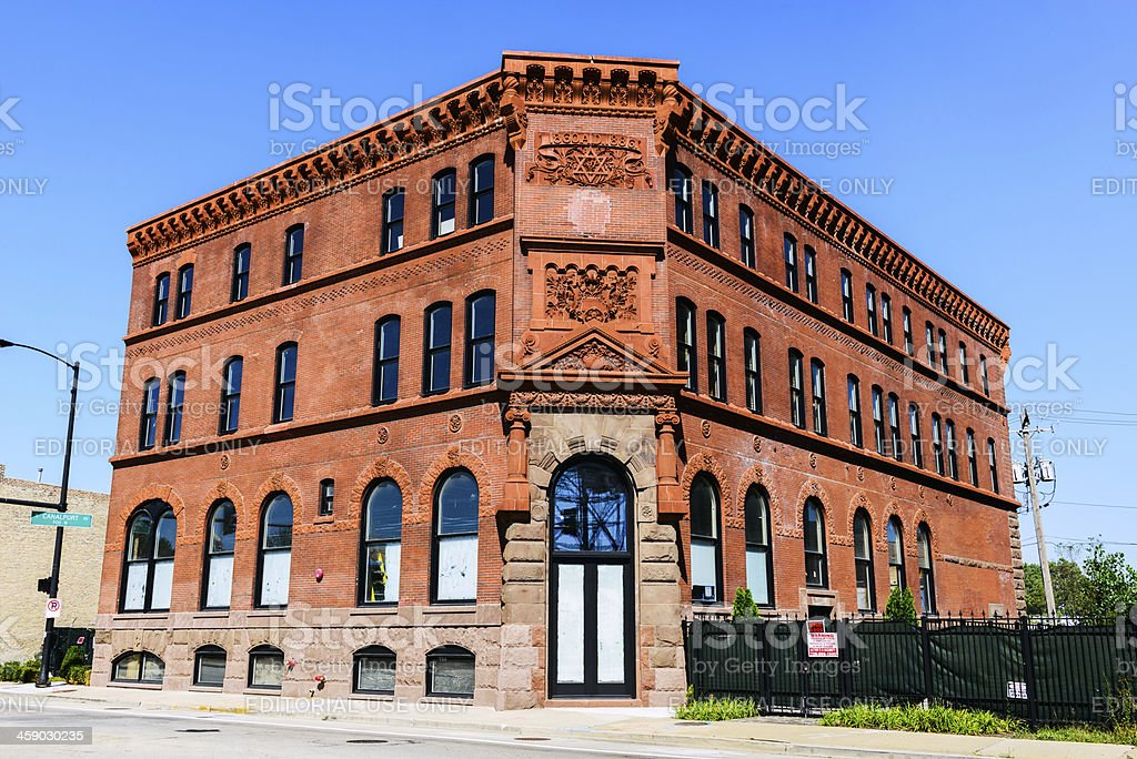 Schoenhofen Brewing Company Administration Building, Chicago royalty-free stock photo