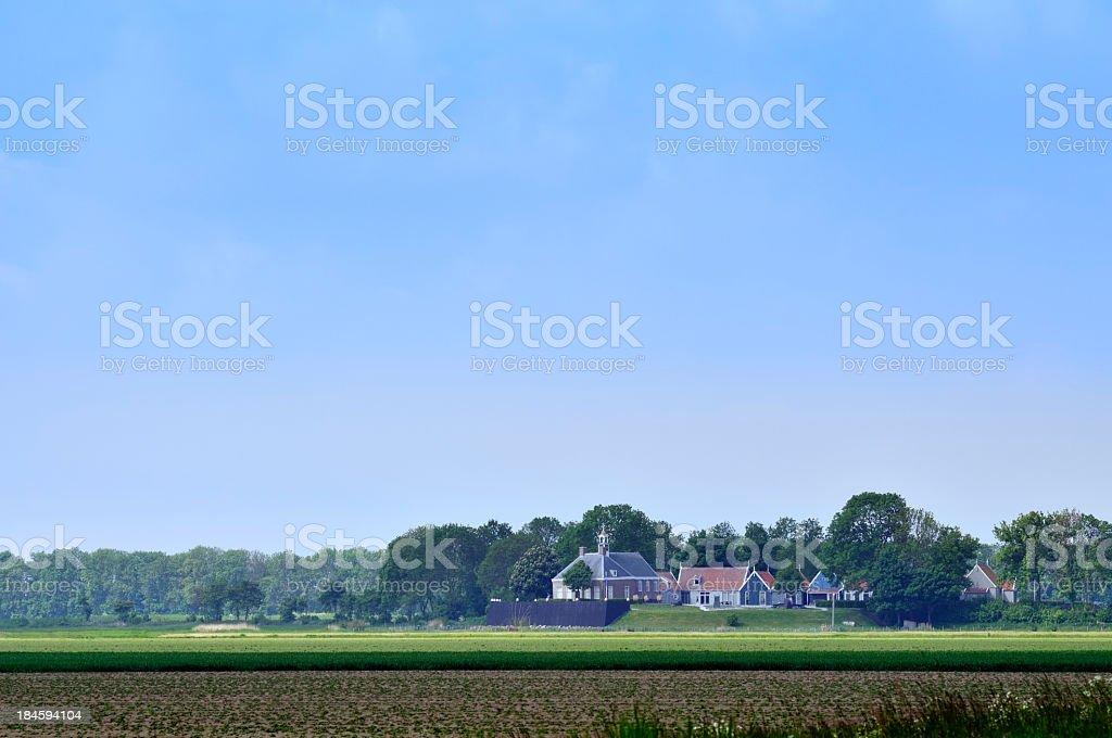 Schokland royalty-free stock photo