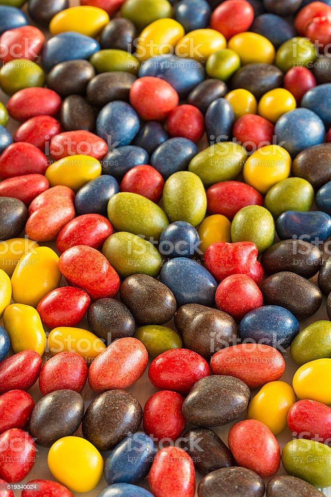 Schokoladen Dragées stock photo