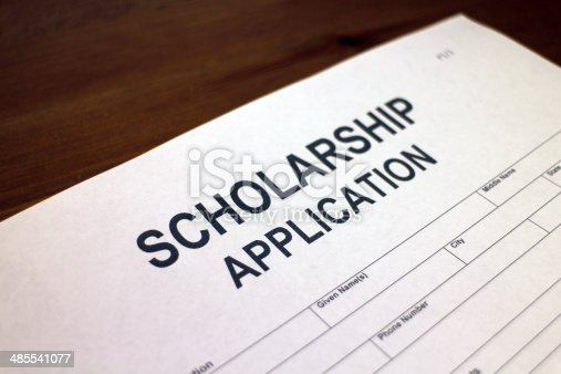 istock Scholarship Application Form 485541077