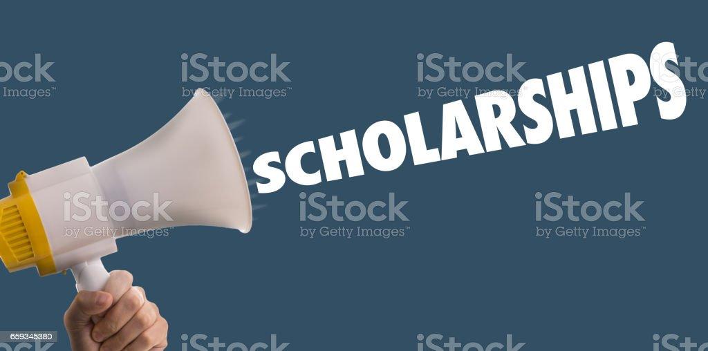 Scholarships stock photo