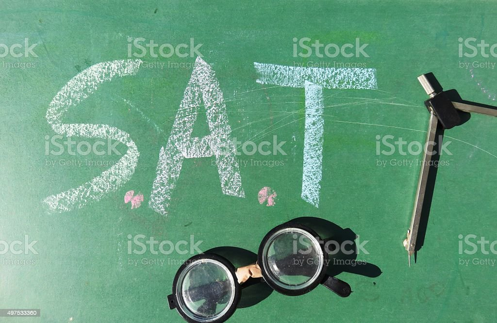 Scholastic Aptitude Test , Scholastic Assessment Test stock photo