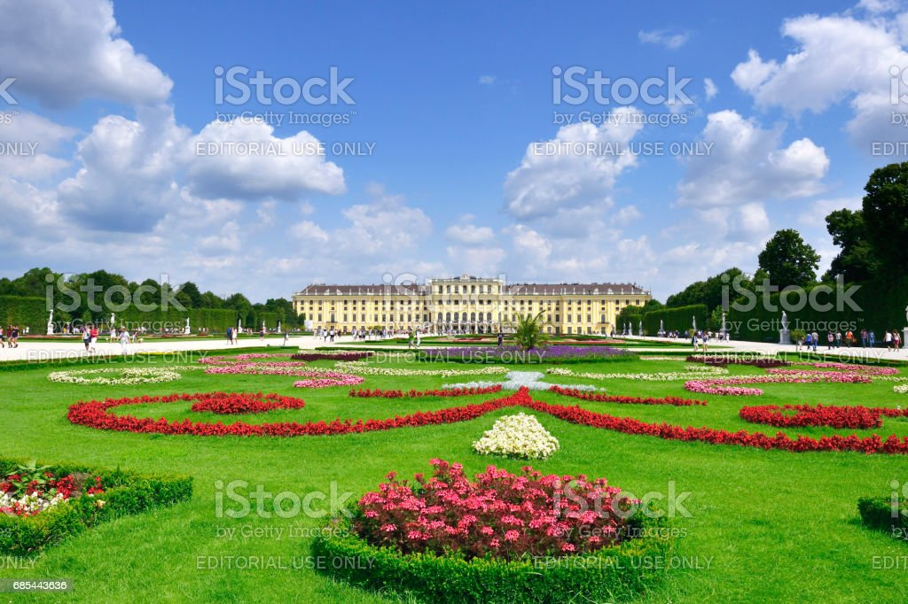 Schonbrunn Palace, Vienna, Austria foto de stock royalty-free