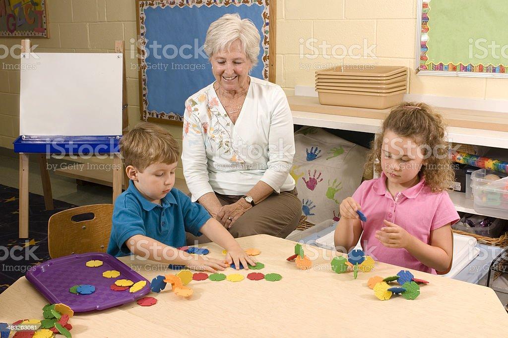 School Activity stock photo
