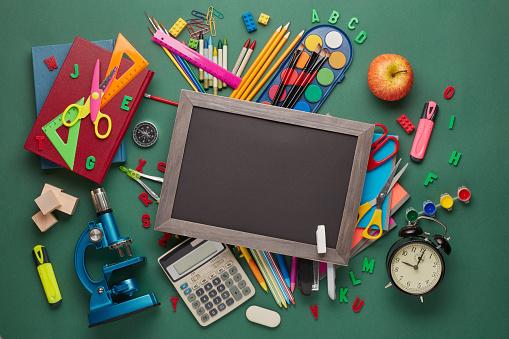 istock School background. Back to school. 1169048891