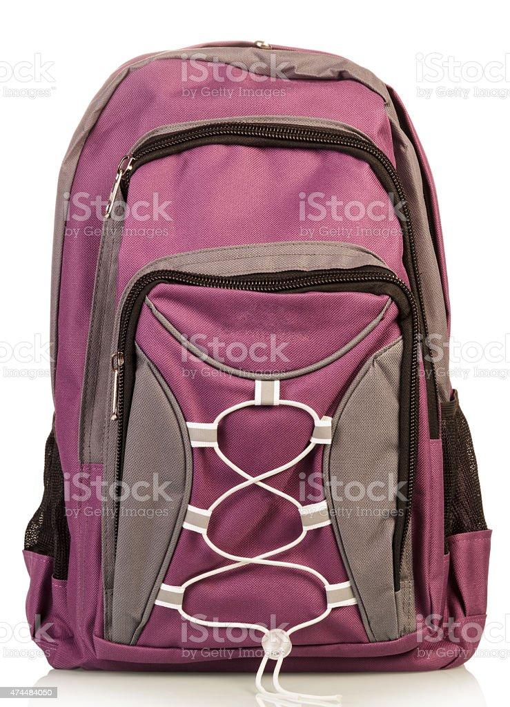 School backpack stock photo