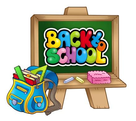istock School bag and chalkboard 453646321