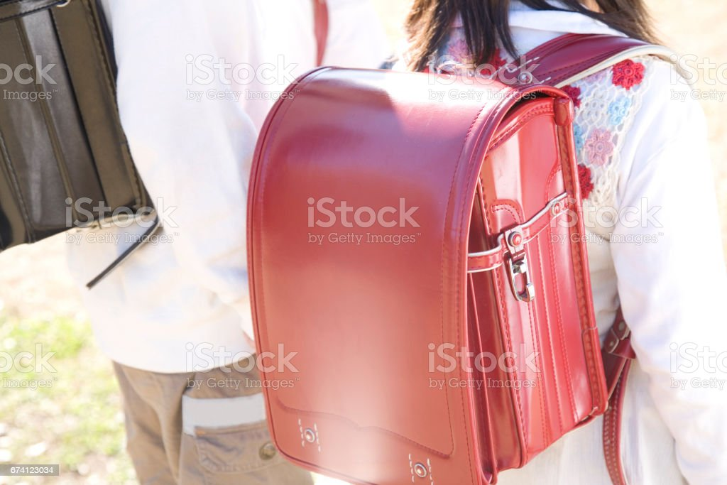 School bags royalty-free stock photo