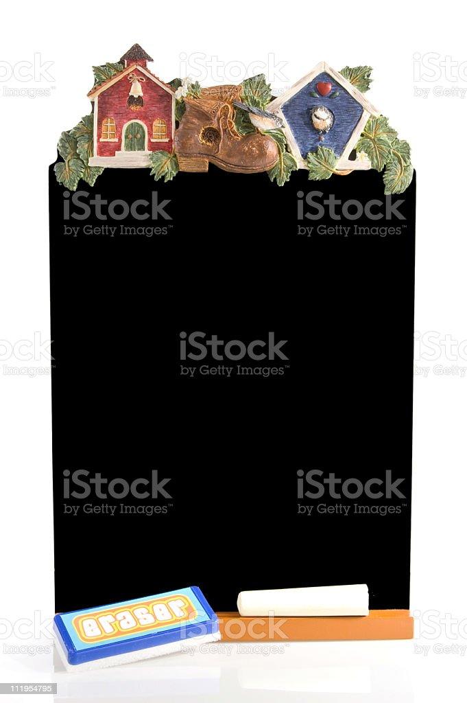 School Blackboard royalty-free stock photo