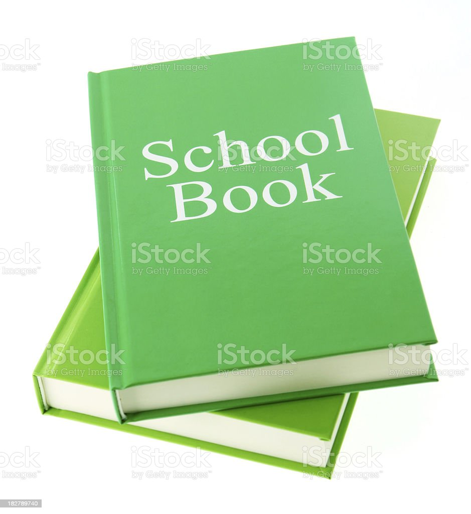 School Book royalty-free stock photo