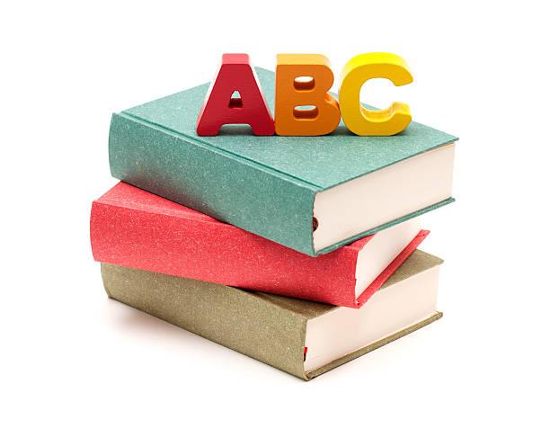 École de livres et Lettre de l'Alphabet - Photo