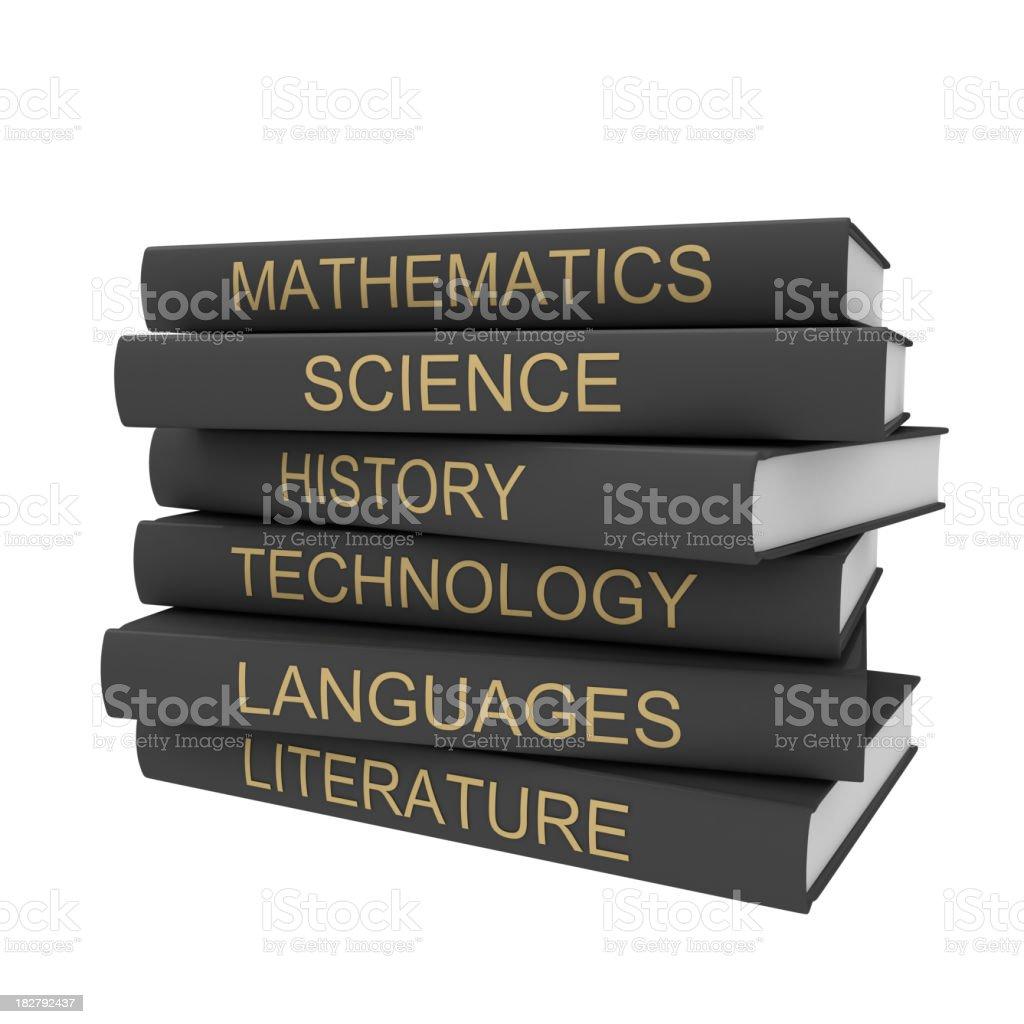 School books royalty-free stock photo
