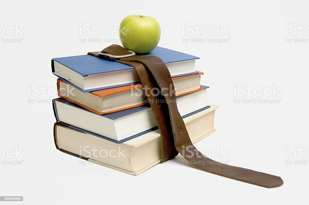 school books royalty-free stock photo