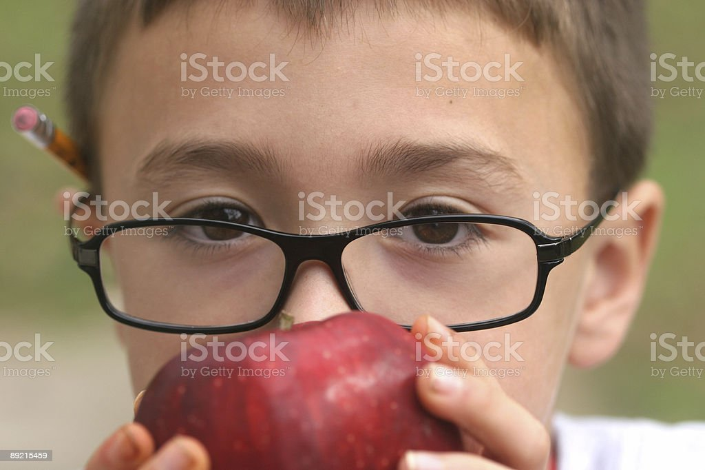 School boy royalty-free stock photo