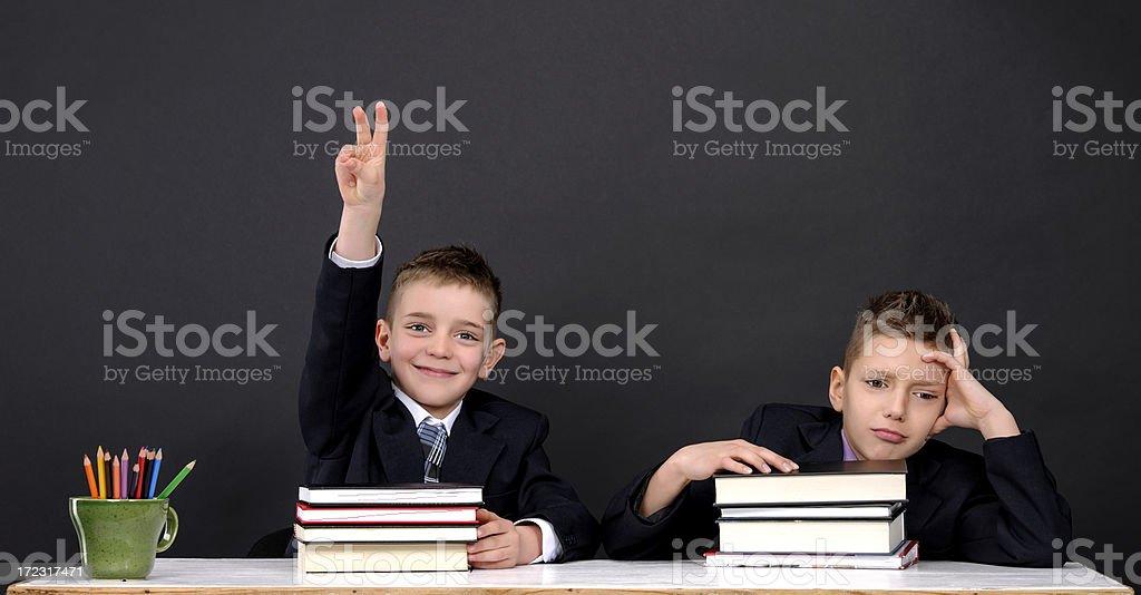 school boys royalty-free stock photo